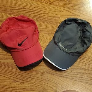 NIKE DRI-FIT RUNNING STRAPBACKS - NWOT - BUNDLE